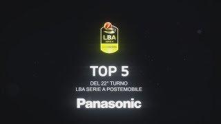 La Top 5 del 22° turno LBA Serie A PosteMobile