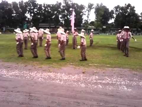 KCNHS Bsp Fancy Drill in kidapawan city Pilot Elementary School