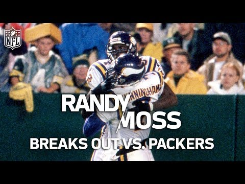 Video: Rookie Randy Moss Shreds the Packers' Defense & Puts the NFL on Notice | NFL Highlights