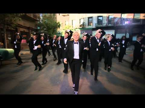 degeneres - New Oscars trailer starring host Ellen DeGeneres and 250 tuxedo-clad men and women dancing to