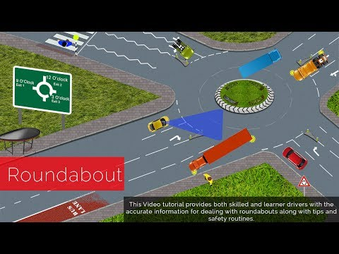 Lessons - Roundabouts Driving lessons How To Negotiate Roundabout An Easy To Understand Full Explanations. Most learners may find roundabouts confusing. New Learner so...
