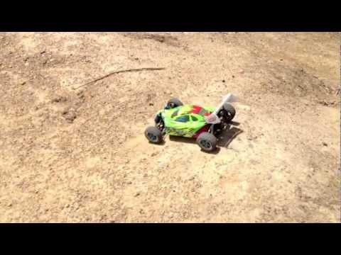 HSP 1/10 XSTR Brushless 4WD RC Pro Version Buggy – BMX TRACK RAW FOOTAGE