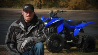 7. 2010 Yamaha Raptor 125 Test Ride