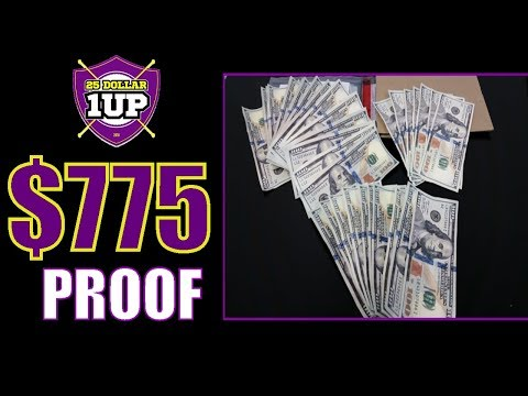 25 dollar 1up 2018   $775 Made in a Week   25 dollar 1up scam review