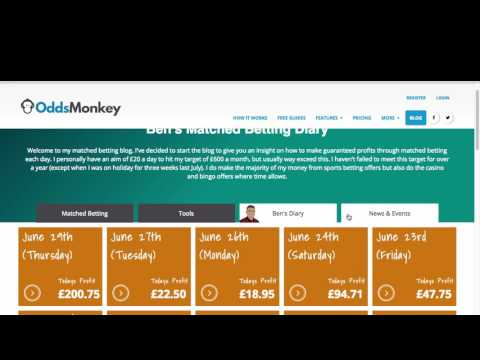 Making A Consistent Monthly Profit From Matched Betting