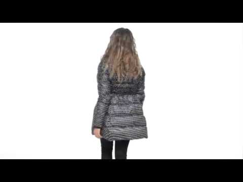 Juicy Couture Double Breasted Puffer Coat SKU:#8048620