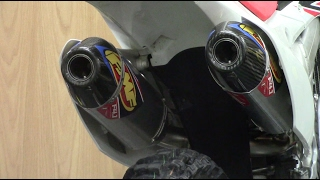 9. FMF 4.1 DUALS! 2015 CRF250R | Sound Comparison And Install