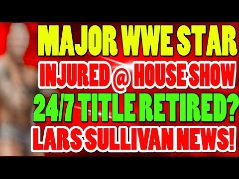 WWE Lars Sullivan News! Randy Orton Injury! WWE 247 Title Cancelled! Wrestling News!