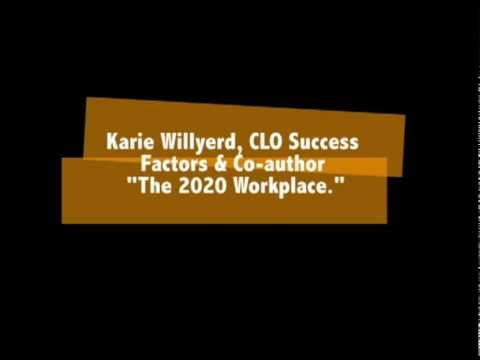 Keynote: Karie Willyerd, Enterprise 2020: Thriving in the Net-Work Era | Enterprise Learning! Event