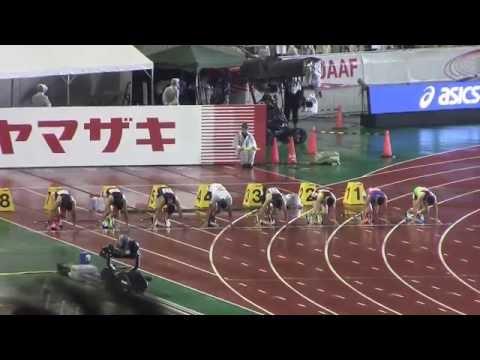 【100m決勝】 3強争いを制したのは、新鋭ケンブリッジ飛鳥!!