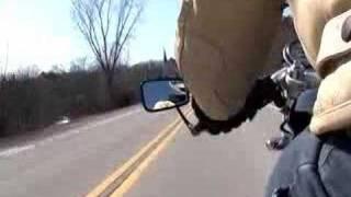 6. 2005 Triumph Thruxton Ride: Predator Exhaust