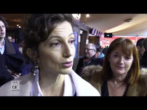 FIBD2017 : Visite d'Audrey Azoulay, Ministre de la culture et de la communication