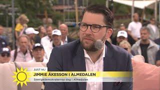 """Video Jimmie Åkesson: """"Jag är övertygad om att vi kommer bli största partiet""""  - Nyhetsmorgon (TV4) MP3, 3GP, MP4, WEBM, AVI, FLV Juli 2018"""