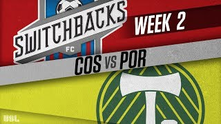 Colorado Springs Switchbacks FC vs Portland Timbers 2: March 24, 2018