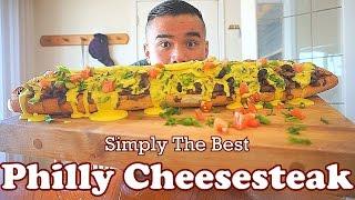 BEST Philly Cheesesteak Recipe | MUKBANG | QT