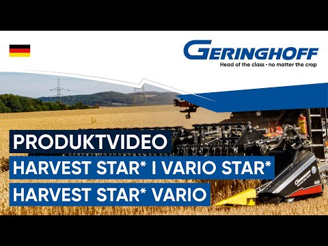 Geringhoff Harvest Star HV660 v2.0 MR