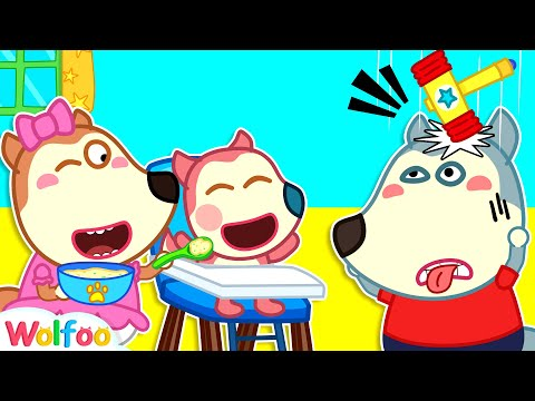 Wolfoo Is the Best Nanny for Jenny - Wolfoo Pretends to Be a Parent | Wolfoo Channel Kids Cartoon