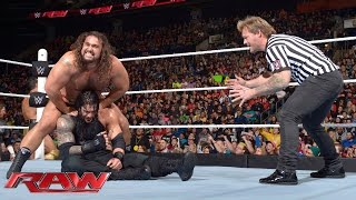 Roman Reigns vs. Rusev – Special Guest Referee Chris Jericho: Raw, January 18, 2016