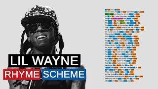 Lil Wayne on Bloody Mary | Rhyme Scheme