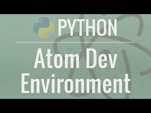 Setting up a Python Development Environment in Atom