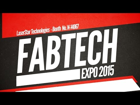 <h3>Visit LaserStar at the Fabtech Show - Booth No. N-14067</h3>Why should you visit LaserStar Technologies at the FABTECH Show? Live laser welding, laser marking, and laser cutting demonstrations by the laser experts. Watch our video and be sure to visit us in Booth No. N-14067 at McCormick Place in Chicago, IL on Nov. 9-12, 2015.<br /><br /><br />