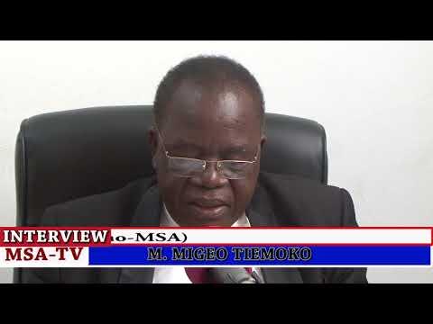 COTE D'IVOIRE: VŒUX DE NOUVEL AN  DE MONSIEUR MIGEO TIEMOKO