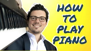 Video How to Play Piano:  From Beginner to First Song (Fast!) MP3, 3GP, MP4, WEBM, AVI, FLV Agustus 2018