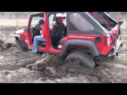3 Jeeps Rescue Stuck ATV and SUV