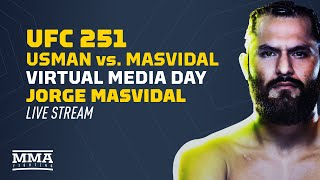 UFC 251: Kamaru Usman vs Jorge Masvidal Virtual Media Day Live Stream by MMA Fighting