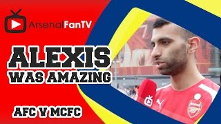 Alexis Sanchez Was Amazing Says Moh - Arsenal 2 Manchester City 2