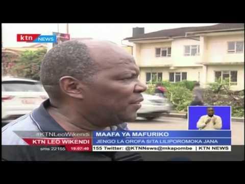 Watu Wanne Waaga baada ya Ukuta kuporomoka katika eneo ya Kilimani