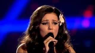 Alexandra Baraceanu-I'd rather go blind(Etta James)-Vocea Romaniei 2014-Auditii pe nevazute Ep. 2