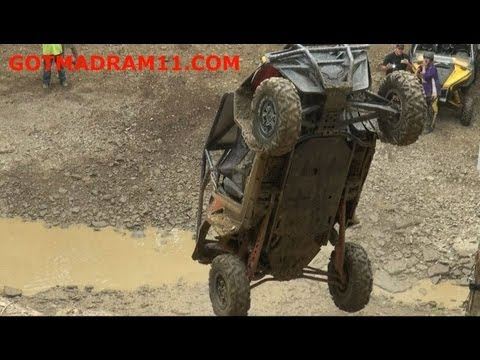 Offroad rig backflips at Dirty Turtle Offroad
