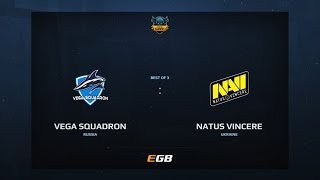 Vega Squadron vs Natus Vincere, Game 1, Dota Summit 7, EU Qualifier