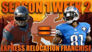 Download Lagu Calvin Johnson Clone Shines! Madden 18 San Antonio Express Relocation Fantasy Franchise! Week 2 Mp3