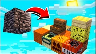 Minecraft Skyblock But It Spawns A Random Item Every 5 Seconds - Random Item Skyblock #3