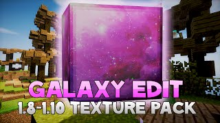 AciDic BliTzz GALAXY EDIT [Space] Texture Pack (1.8/1.9/1.10 Resource Pack)