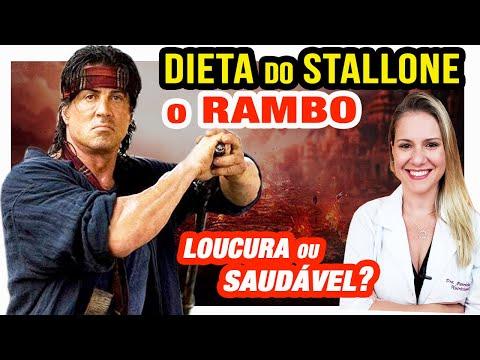 Nutricionista - Dieta do Sylvester Stallone - RAMBO [É Loucura? Muito Radical? É Saudável?]