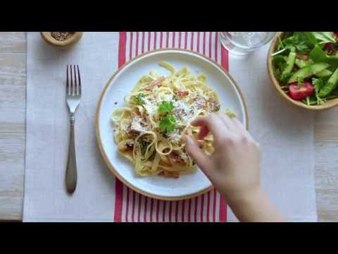 Carbonara Made With CARNATION Lite Cooking Cream