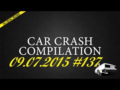 Car crash compilation #137 | Подборка аварий 09.07.2015
