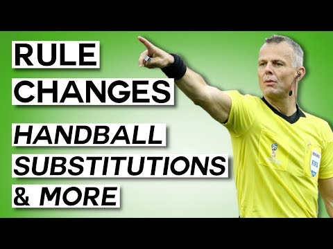 A Quick Explanation Of The New Football Rules - Handball Changes, Saving Penalties, And More