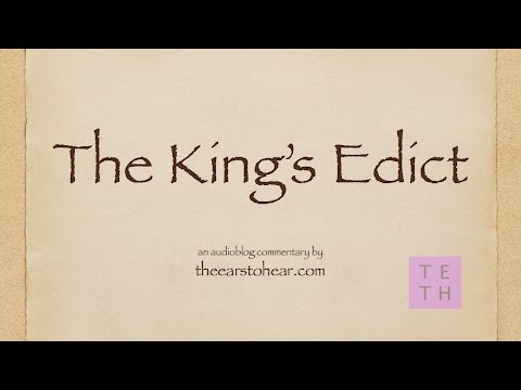 The King's Edict (видео)