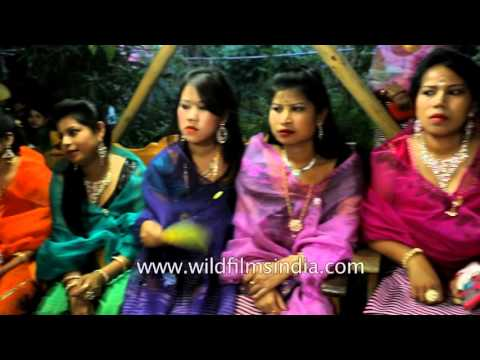 Video Pretty Manipur women guests and bride at Manipuri Wedding in India download in MP3, 3GP, MP4, WEBM, AVI, FLV January 2017