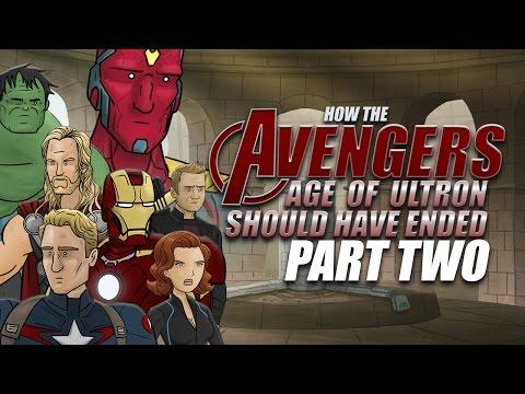 Avengers: Age of Ultron, část 2
