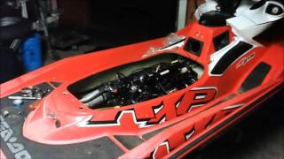 9. 2008 Seadoo RXP upgraded supercharger