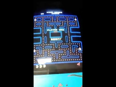 Arcade Pac-Man FB Live stream - High Score run