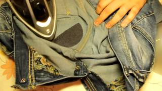 14 июл 2015 ... How to sew a new skirt of old jeans in 1 hour! by Nadia Umka! - Duration: 23:25. nNadia Umka 123,187 views · 23:25. Невидимая заплатка на...