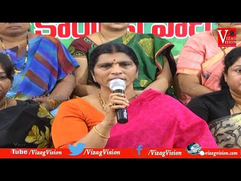 YCP Leader Lakshmi Parvathi Press Meet Comments on TDP & Janasena Party  in Visakhapatnam,Vizagvision...