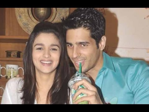 Sidharth Malhotra Blushes On Alia Bhatt's Name!