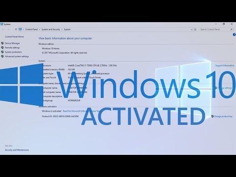 Activation Windows 10 Pro Product Key Free Latest 2019 ✔